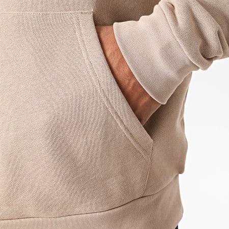 adidas - Sweat Capuche Trefoil Outline GF4102 Beige