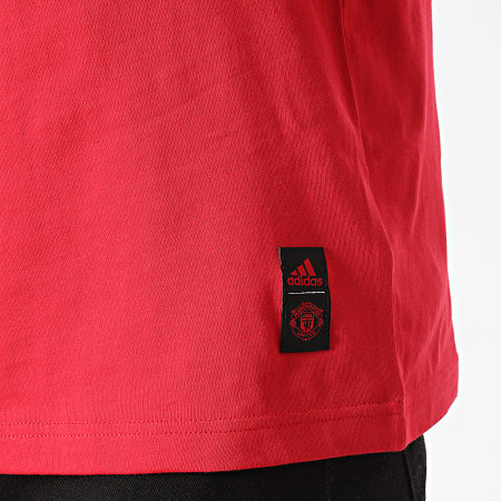adidas - Tee Shirt Manchester United DNA FR3839 Rouge