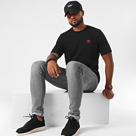 adidas - Tee Shirt GD2535 Noir Rouge