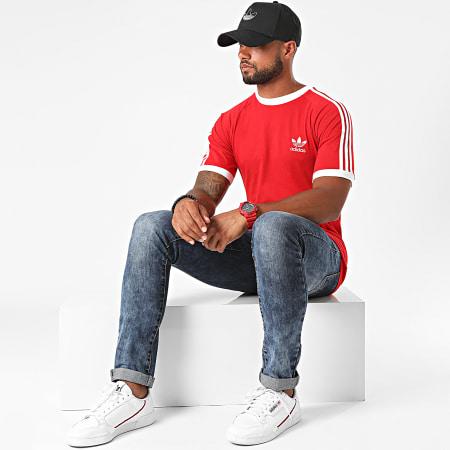 adidas - Tee Shirt A Bandes GD9934 Rouge