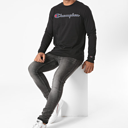 Champion - Tee Shirt Manches Longues 214725 Noir