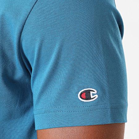 Champion - Tee Shirt 214726 Bleu Azur