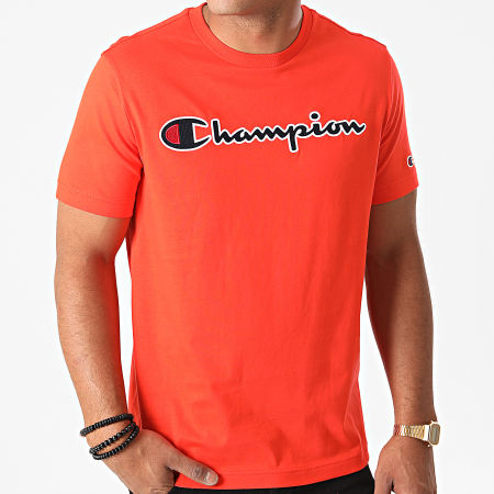 Champion - Tee Shirt 214726 Orange