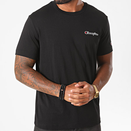 Champion - Tee Shirt 214727 Noir