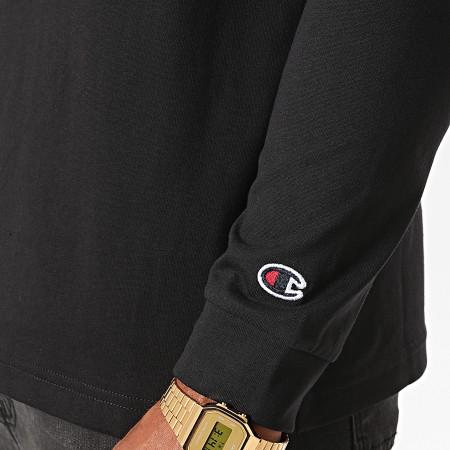 Champion - Tee Shirt Manches Longues 214782 Noir