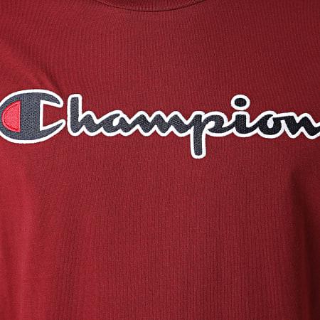 Champion - Tee Shirt 214726 Bordeaux