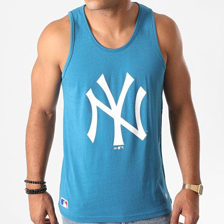 New Era - Débardeur MLB Seasonal Team Logo New York Yankees 12485711 Bleu Marine
