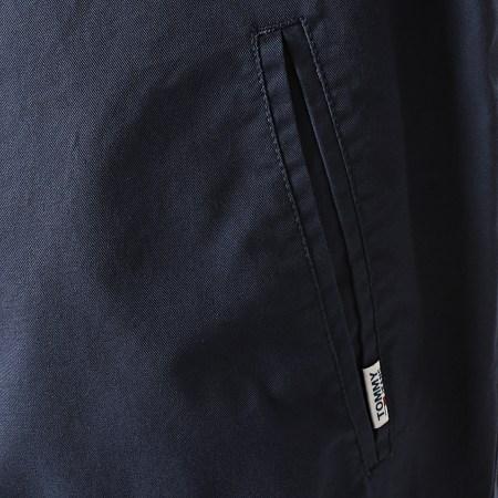 Tommy Hilfiger Jeans - Veste Zippée Cuffed Cotton 8424 Bleu Marine