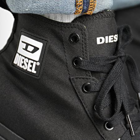 Diesel - Baskets Montantes S-Astico Y02370-P1992 Black