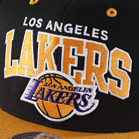 Mitchell And Ness - Casquette Snapback International 226 Los Angeles Lakers Noir