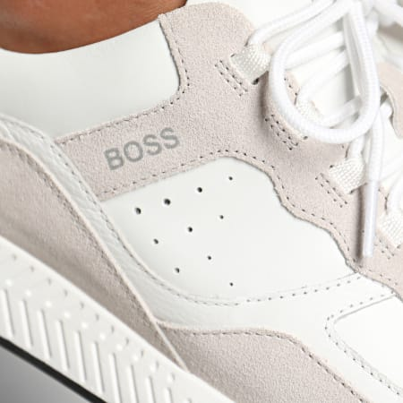 BOSS by Hugo Boss - Baskets Titanium Runn 50440763 White
