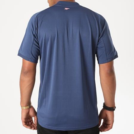 adidas - Tee Shirt A Bandes Arsenal FC FQ6188 Bleu Marine