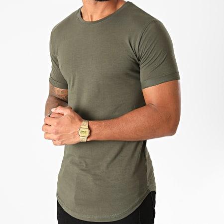 LBO - Tee Shirt Oversize 1258 Vert Kaki