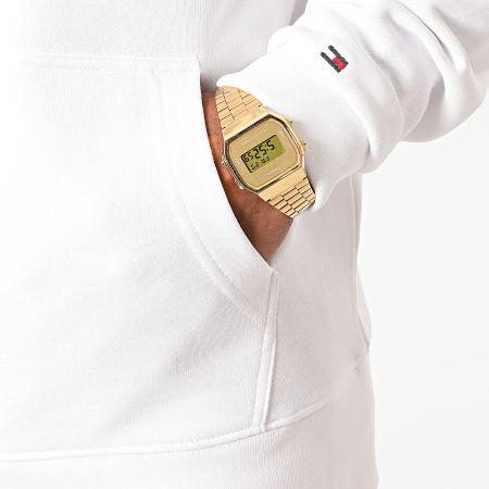 Tommy Hilfiger - Sweat Capuche Hilfiger Logo 4542 Blanc