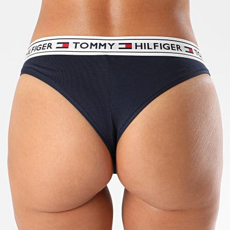 Tommy Hilfiger - Culotte Femme Brazilian 0723 Bleu Marine