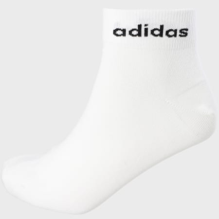adidas - Lot De 3 Paires De Chaussettes GE1380 Blanc