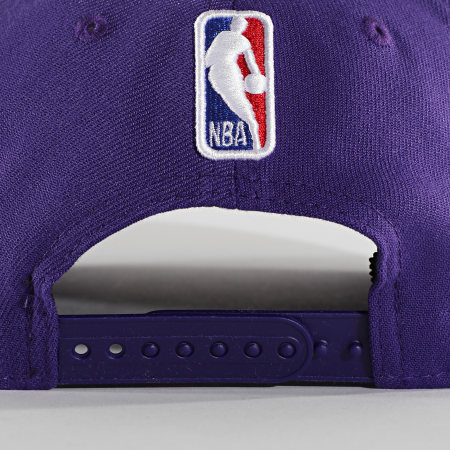 New Era - Casquette 9Forty Stretch Snap 60003023 Violet Gris