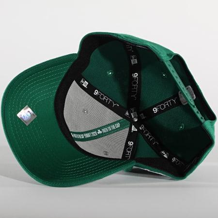 New Era - Casquette 9Forty Stretch Snap 60003038 Boston Celtics Vert Gris
