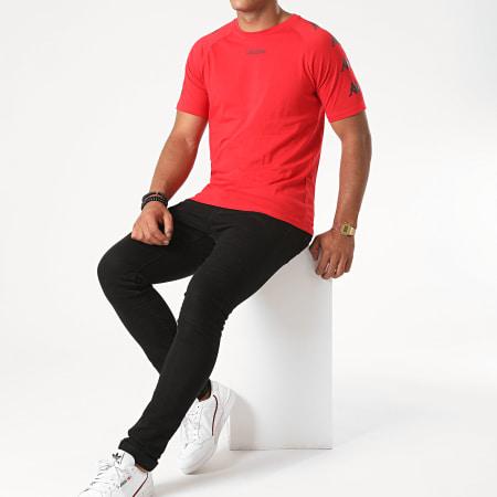 Kappa - Tee Shirt Slim Klake Rouge