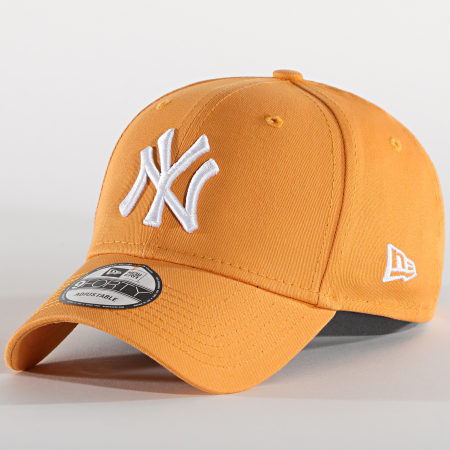 New Era - Casquette League Essential 9Forty New York Yankees Jaune Moutarde