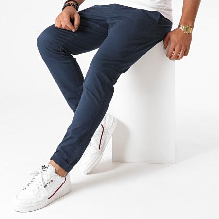 Only And Sons - Pantalon Chino Cam PG 6775 Bleu Marine