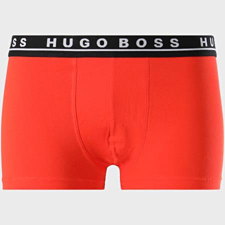 BOSS By Hugo Boss - Lot De 3 Boxers 50438342 Noir Orange Bleu