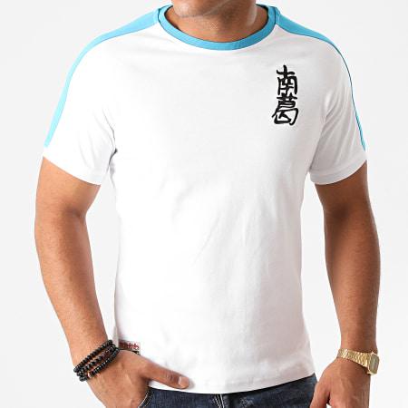 Okawa Sport - Tee Shirt A Bandes Newpie Blanc