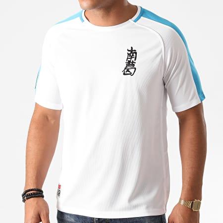 Okawa Sport - Tee Shirt De Sport A Bandes Newpie Blanc