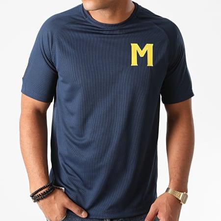 Okawa Sport - Tee Shirt De Sport Muppet Bleu Marine