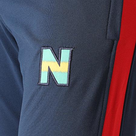 Okawa Sport - Pantalon Jogging A Bandes Newteam 2 Bleu Marine