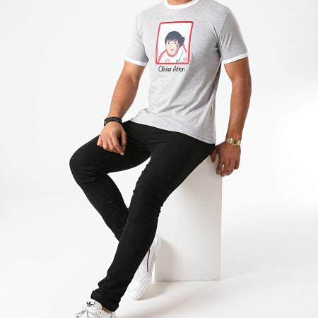 Okawa Sport - Tee Shirt Héros Atton Gris Chiné