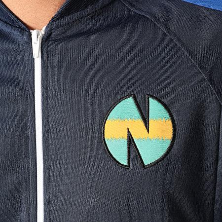 Okawa Sport - Veste Zippée A Bandes Newteam 1 V2 Bleu Marine