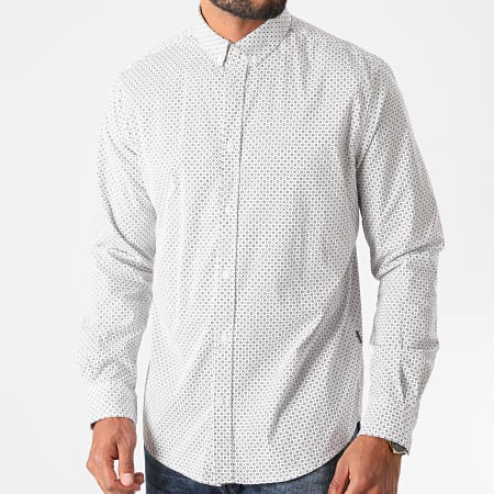 Tom Tailor - Chemise Manches Longues 1021064-XX-10 Blanc