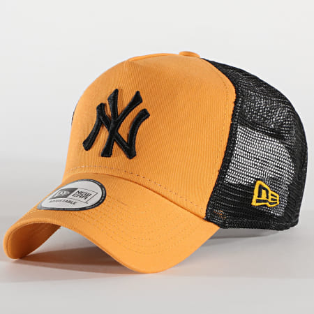 New Era - Casquette Trucker League Essential 12490148 New York Yankees Jaune