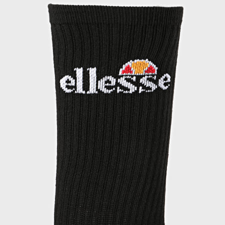 Ellesse - Lot De 3 Paires De Chaussettes SBGA1569 Noir