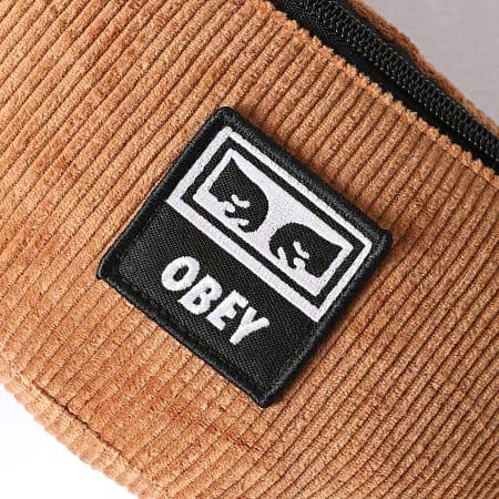 Obey - Sac Banane Wasted Hip Bag Marron
