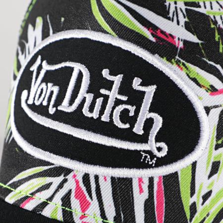 Von Dutch - Casquette Trucker Ahig Noir Vert