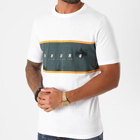Wrung - Tee Shirt French Block 2 Blanc