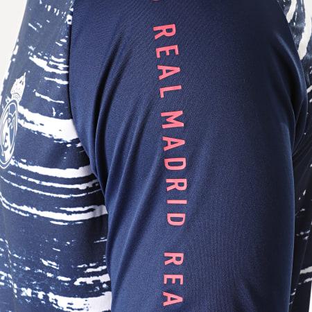 adidas - Tee Shirt De Sport Real Madrid FC FQ7892 Bleu Marine Blanc