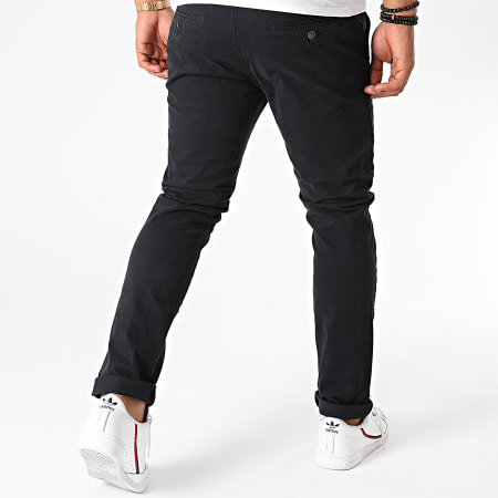 Terance Kole - Pantalon Chino XX160009-2 Bleu Marine