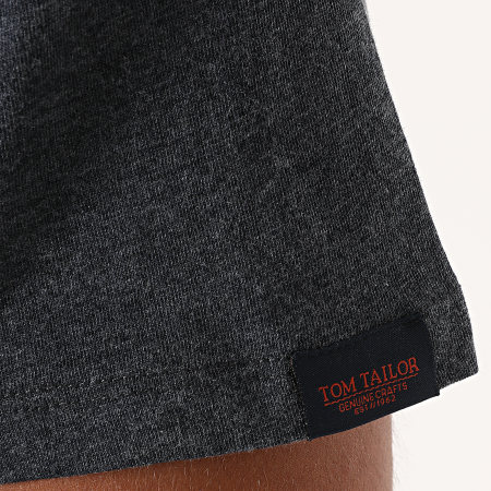 Tom Tailor - Tee Shirt Poche 1021482-XX-10 Bleu Marine