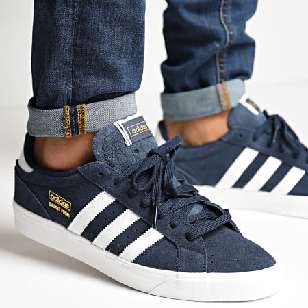adidas - Baskets Profi Lo FX3071 Collegiate Navy Footwear White Gold Metallic