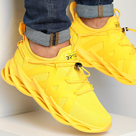 BB Salazar - Baskets F801 Yellow