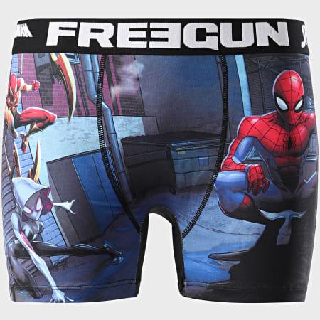 Freegun - Boxer Spider-Man Bleu