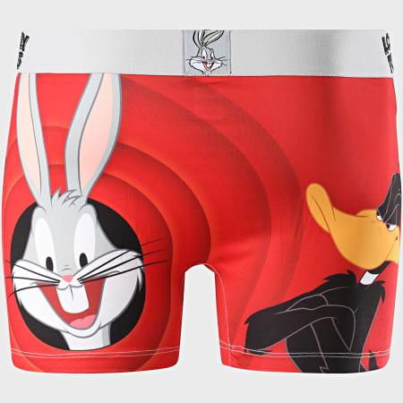 Freegun - Lot De 2 Boxers Looney Tunes Noir Rouge