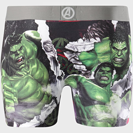 Freegun - Boxer Avengers Hulk Gris