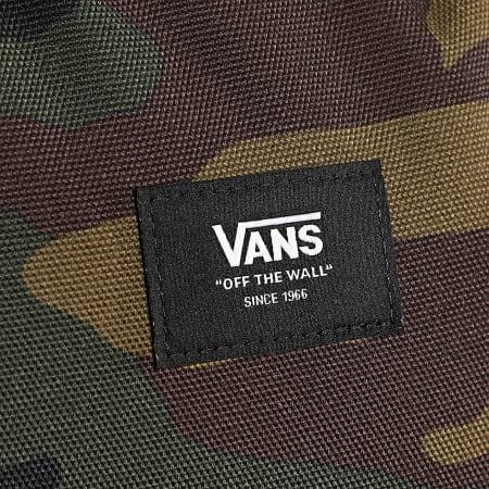 Vans - Sac A Dos Old Skool III Camo Vert Kaki