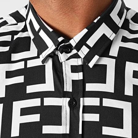 Final Club - Chemise Premium Avec Motif Monogram 496 Noir