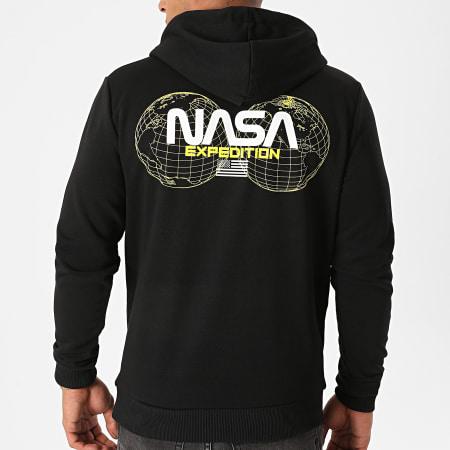 NASA - Sweat Capuche Expedition Back Noir