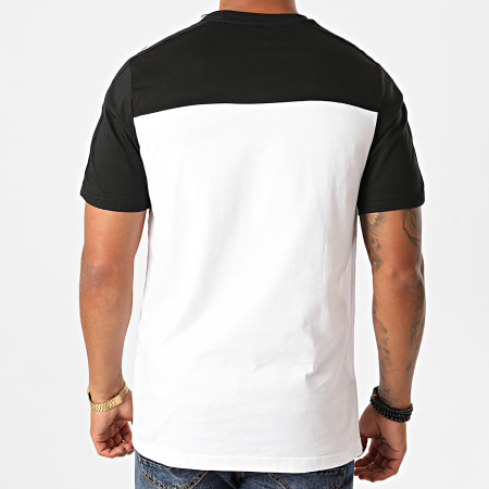 adidas - Tee Shirt A Bandes Essentials Tape GD5496 Blanc Noir